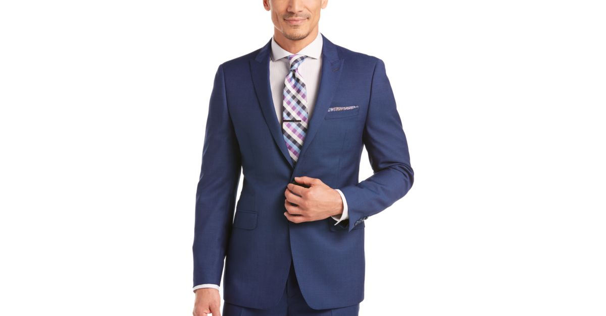 Men's suits that fit!